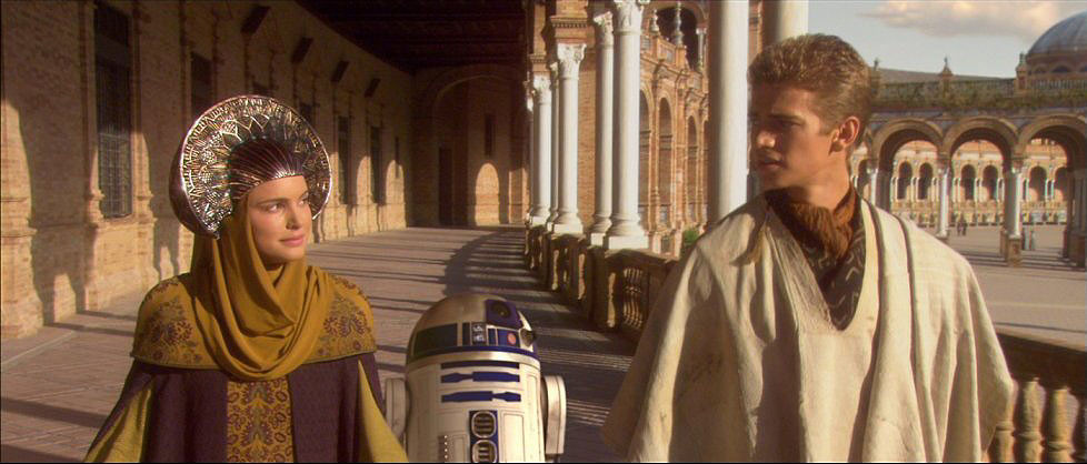 Naboo in Star Wars: Attack of the Clones