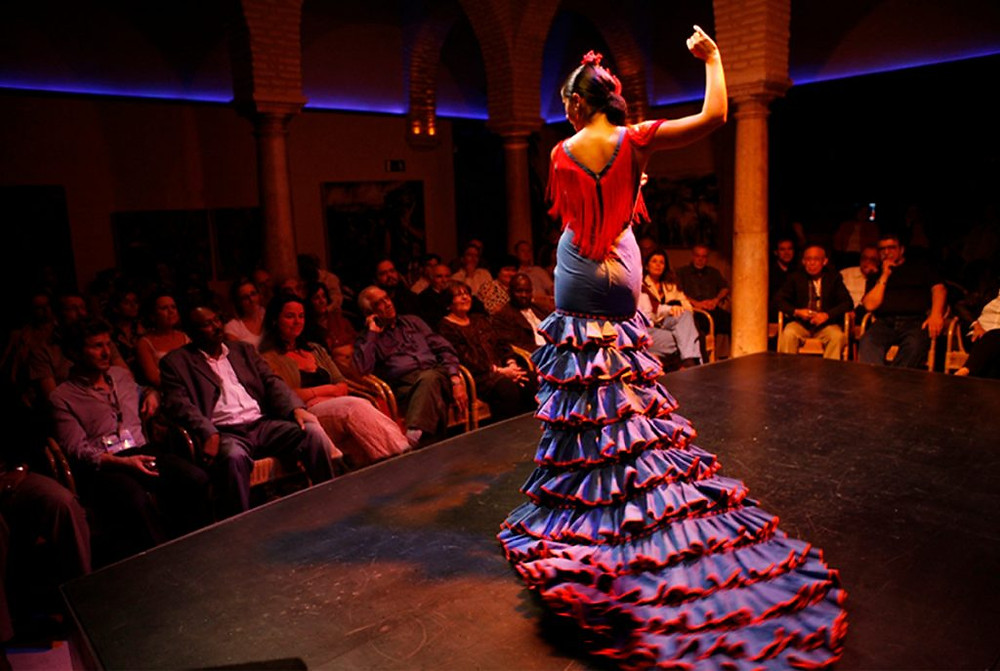 Flamenco dancer in Seville, Spain