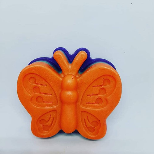 Butterfly Mango Papaya Soap