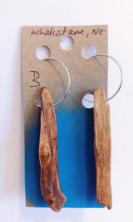 Repurposed Driftwood Earrings
