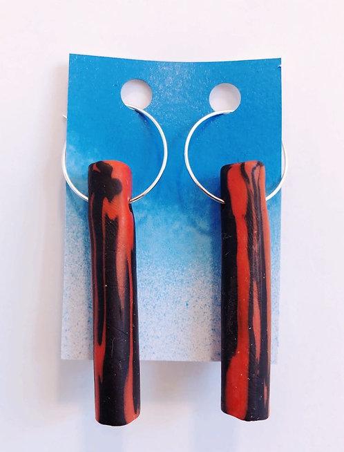 Oven Clay Earrings