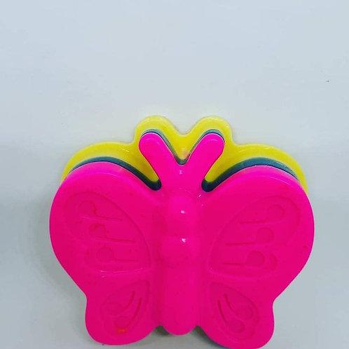 Butterfly Raspberry Lemonade Soap