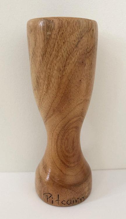 Pitcairn Island Hand Carved Bud Vase