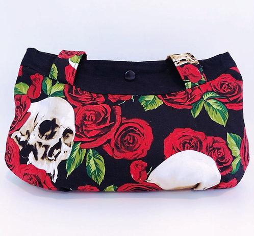 Gerbera Handbag Skull Rose