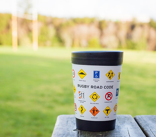 cuppa coffee cup rugby road code