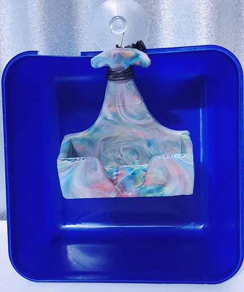 Recycled Ice Cream Container Soap Dish