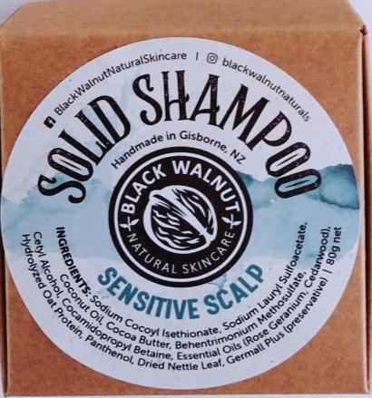 Shampoo Bar in a Box Sensitive Scalp
