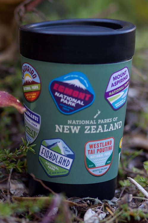 cuppa coffee cup nz national parks