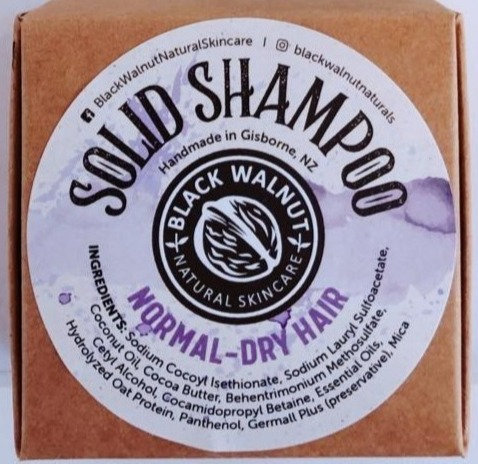 Shampoo Bar in a Box Normal Dry