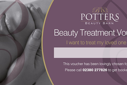 £80 Beauty Treatment Voucher