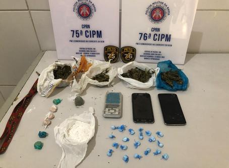 75ªCIPM E 76ªCIPM - FECHAM PONTO DE VENDA DE DROGAS EM JUAZEIRO - BA