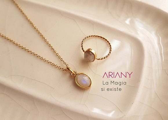 Anillo Magic Moon - Oro 18k