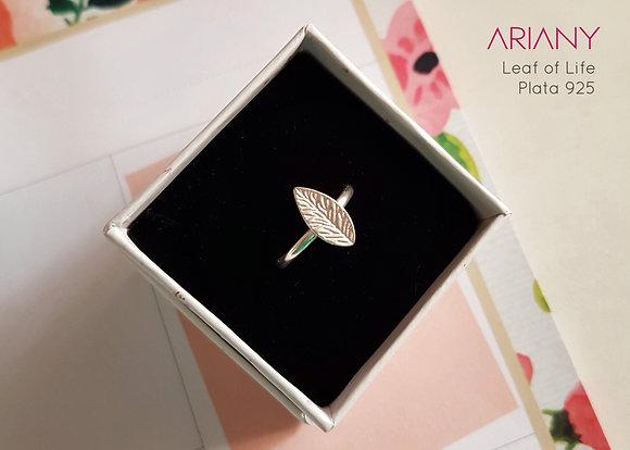 Anillo Leaf of Life - Plata 925