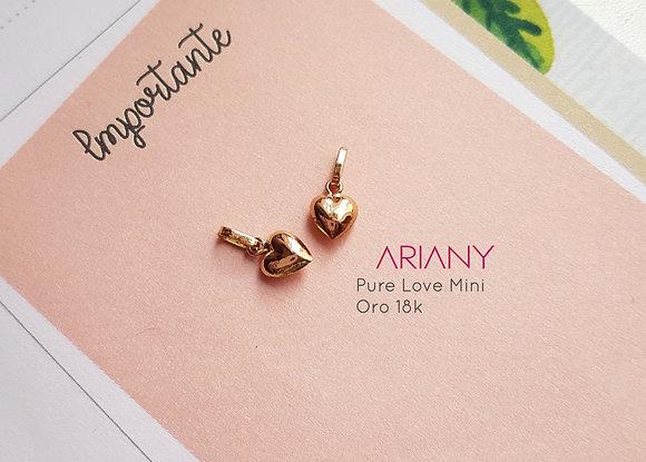Dije Pure Love Mini - Oro 18k