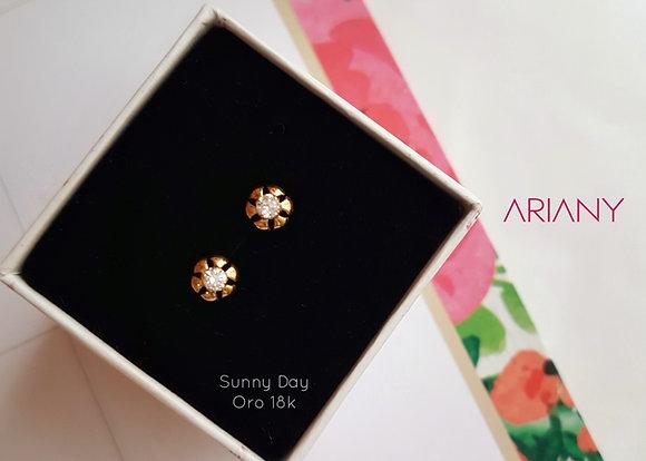 Aretes Sunny Day - Oro 18k