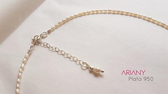 Gargantilla de Perlas - Plata 950