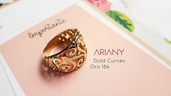 Anillo Gold Curves