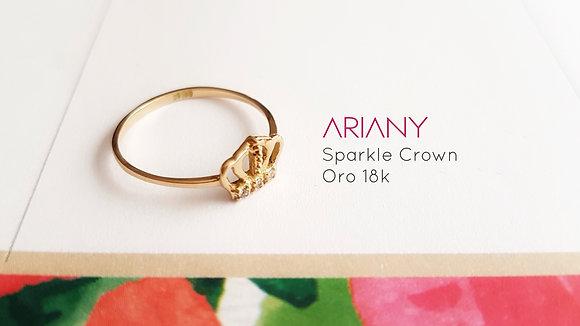 Anillo Sparkle Crown