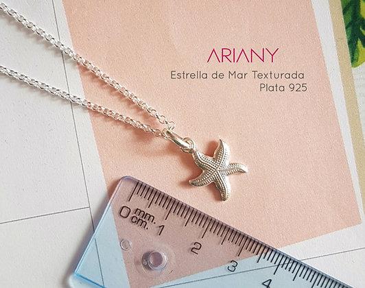 Cadena Estrella de Mar - Plata 925