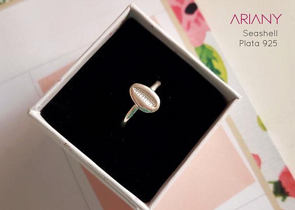 Anillo Seashell - Plata 925