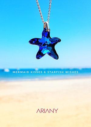 Starfish Swarovski - Navy Blue