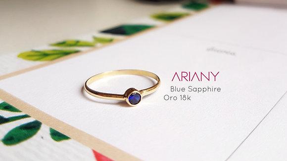 Anillo Sparkle - Blue Sapphire