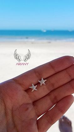 Arete Estrella de Mar Mini - Plata 950