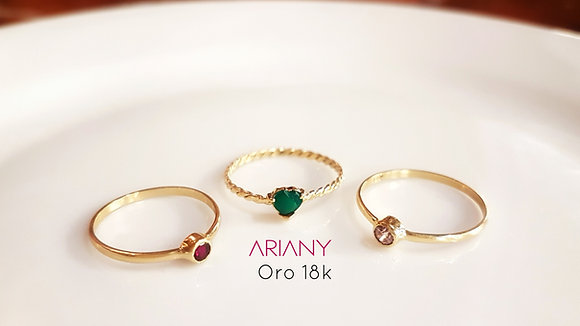 Anillo Sparkle - Rose of France