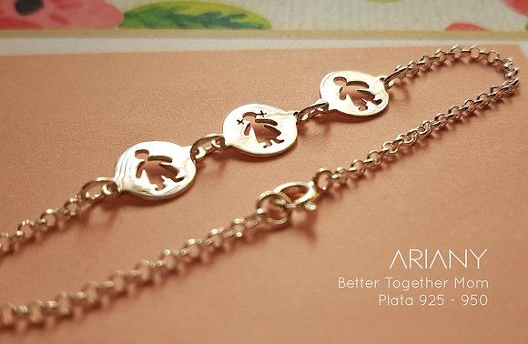 Pulsera Better Together - Plata 925/950