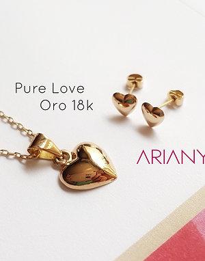 Dije Corazón - Oro 18k