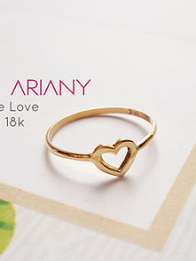 Anillo True Love (Talla 7) Oro 18k