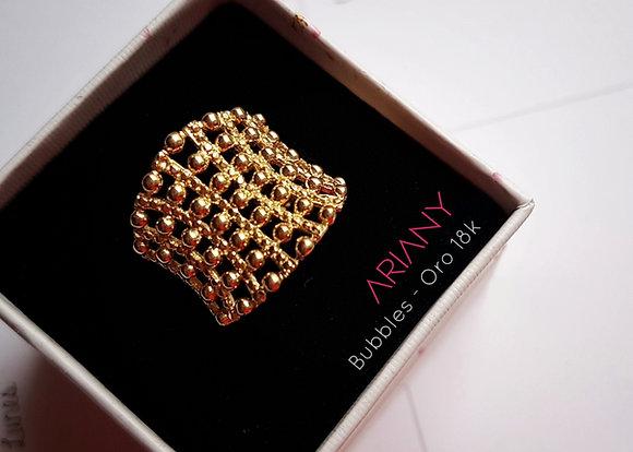 Anillo Bubbles - Oro 18k