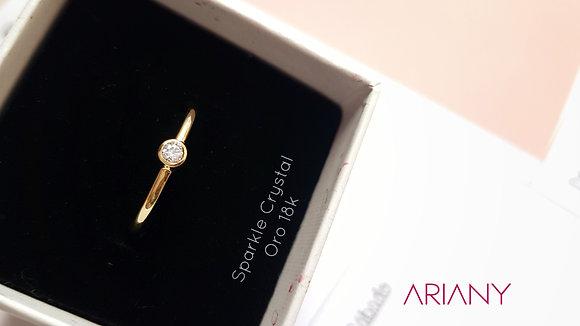 Anillo Sparkle - Crystal