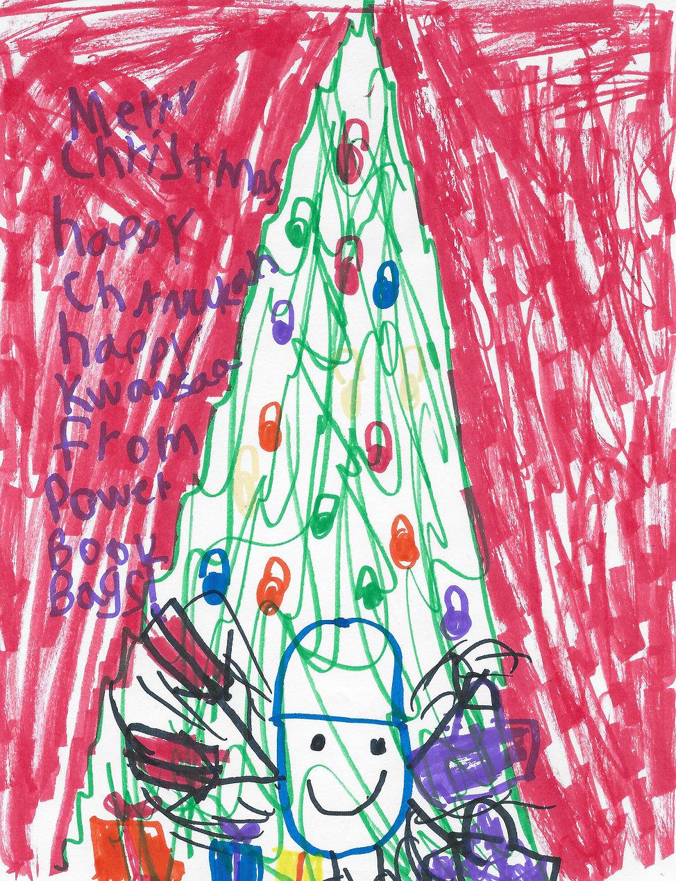 Holiday card Gracie drawing.JPG