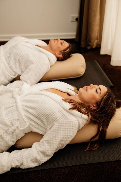 Restorative Yin and Massage
