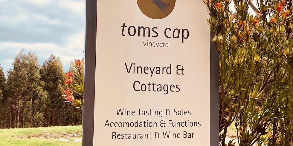 A Night Cap at Toms Cap Wines, Autumn 2019