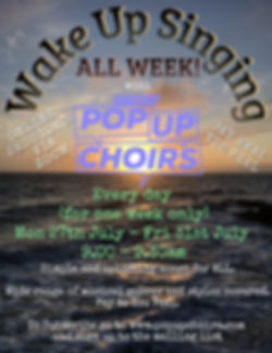 Wake Up Singing All Week July August 202