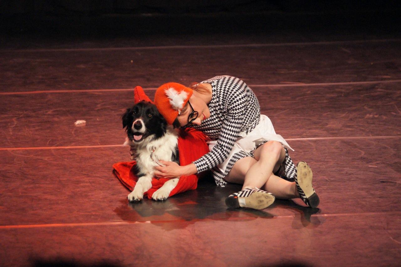 Diane et son chien