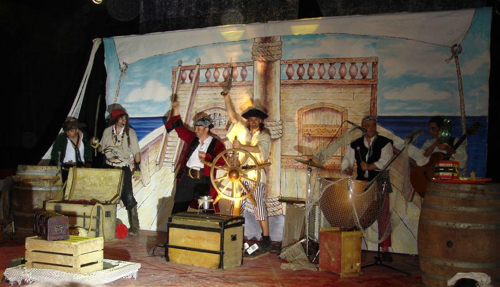 Les pirates comédie musicale