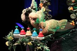 Diane et ses poules