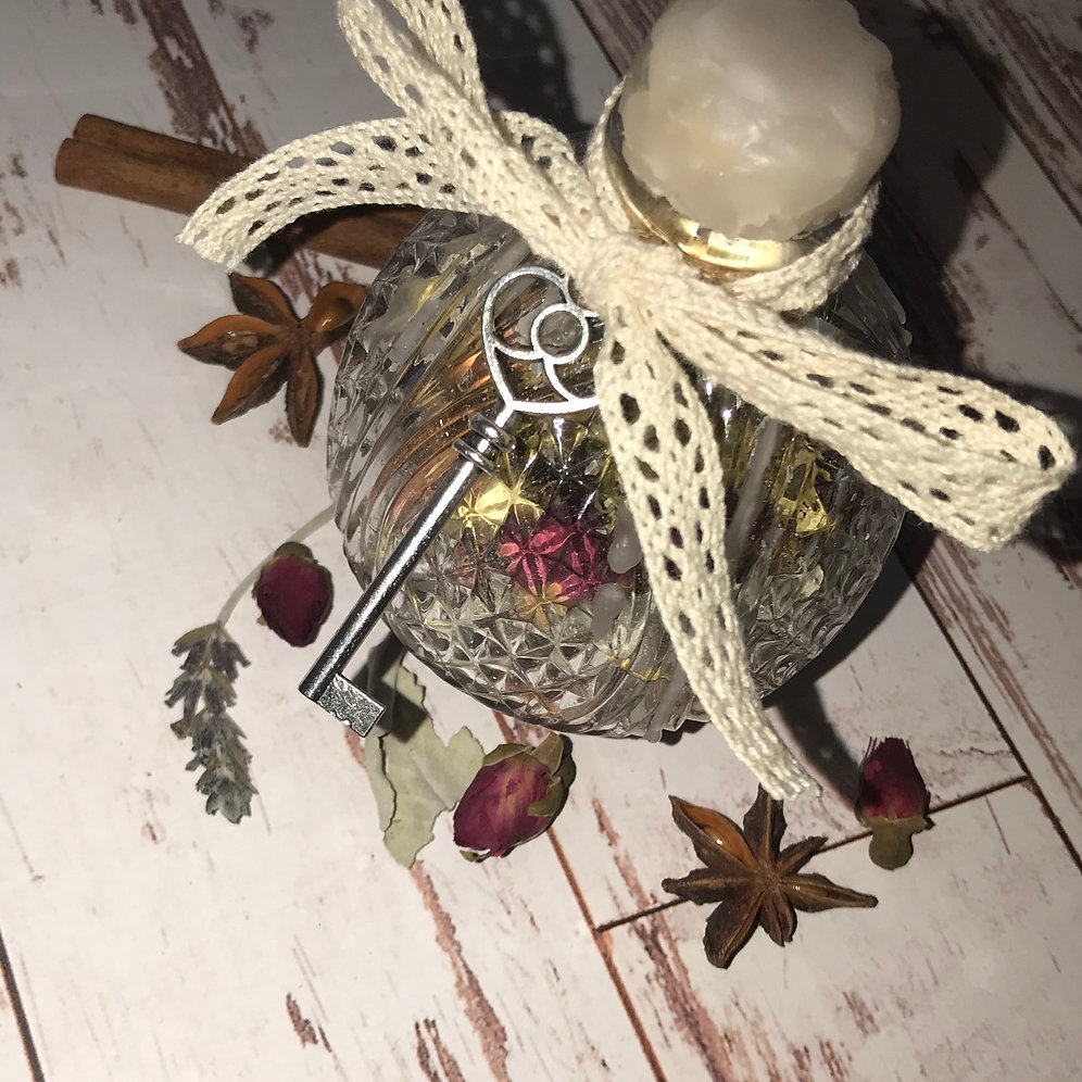 Home Cleansing & Blessing Spell Jar   auroramagick