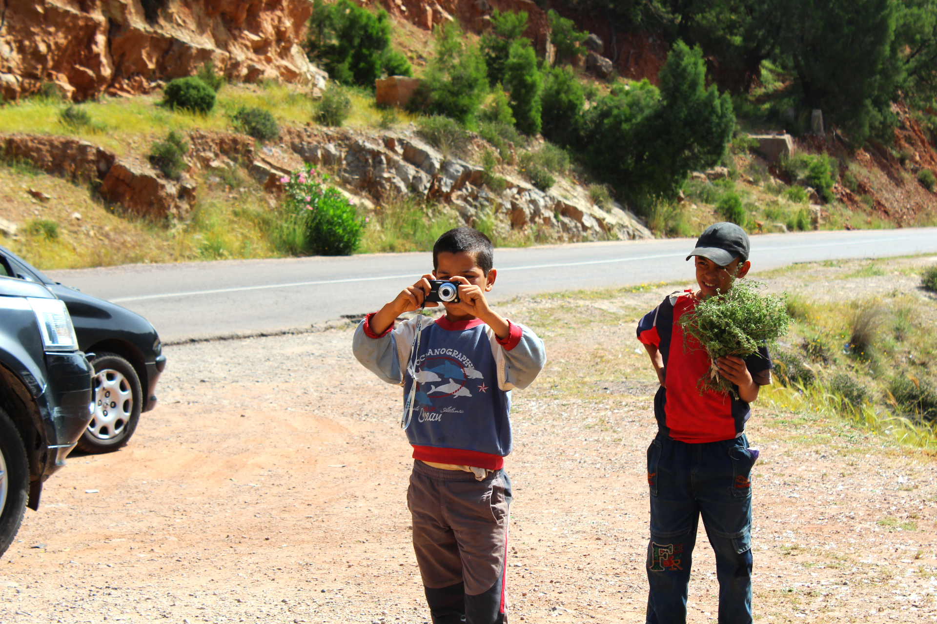 Tilouguit Berber children