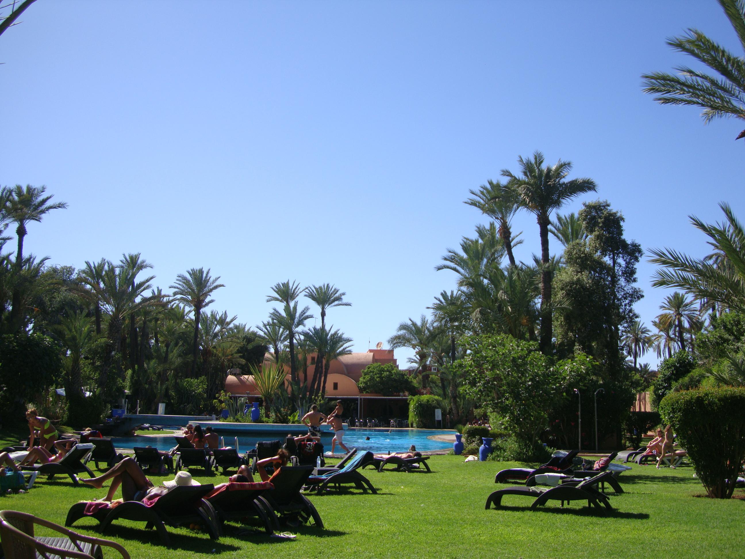 swimming pool Semiramis Marrakech