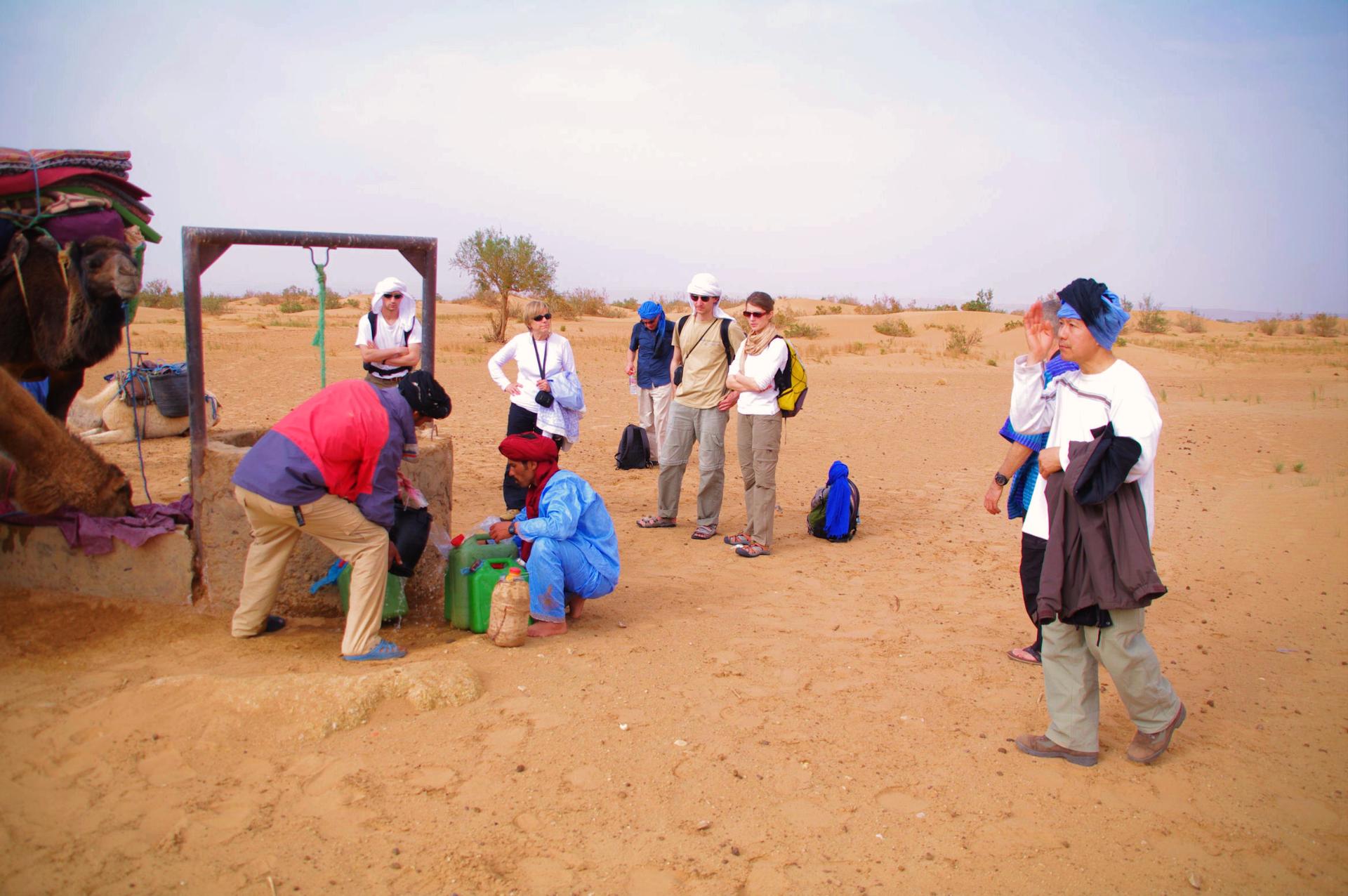 rencontre nomades du désert