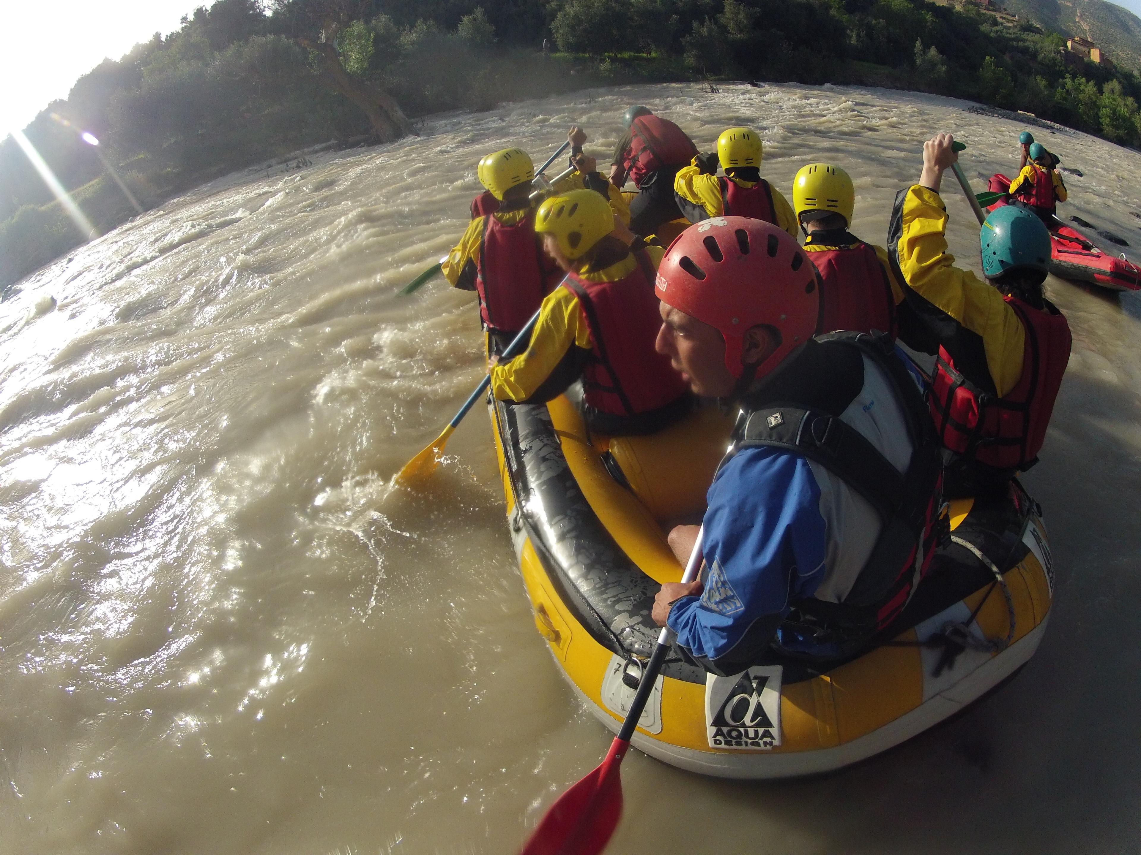 rafting morocco