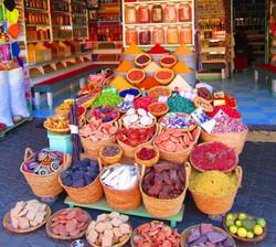 Souk épices Maroc