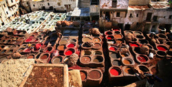 Tanneries de Fes