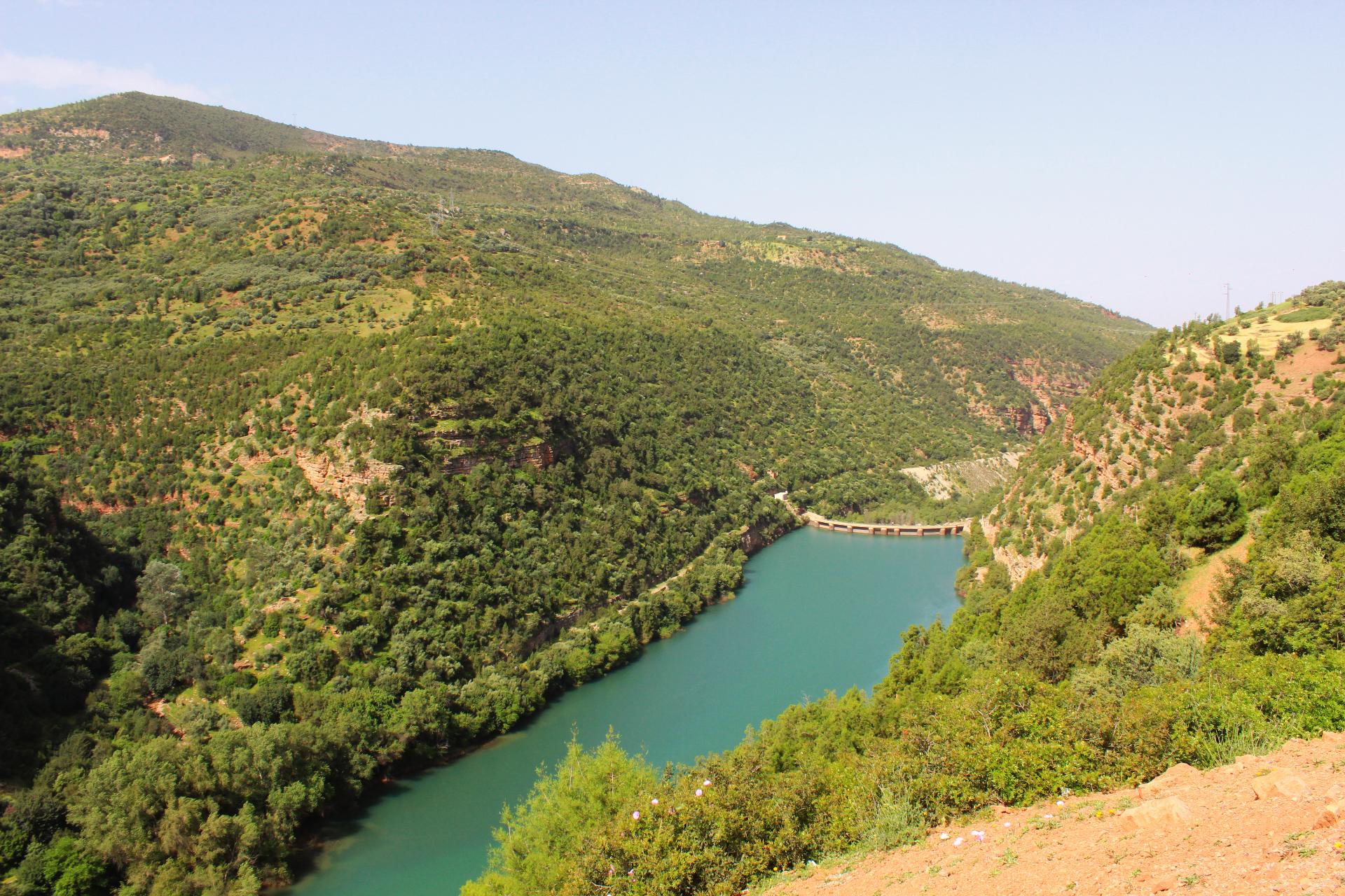 Bin-ElOuidane water dam