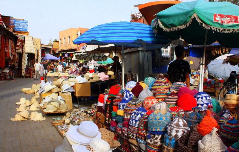 马拉喀什的集市
