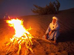沙漠篝火营地